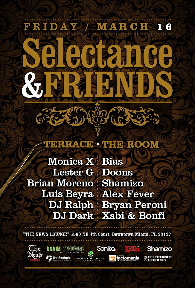 WMC Selectance Records, Friday March 16th 2012