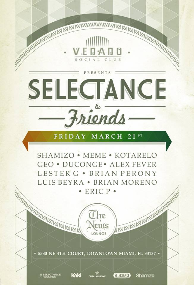 LUIS  BEYRA at WMC 2014 MARCH 21st SELECTANCE RECORDS AND FRIENDS