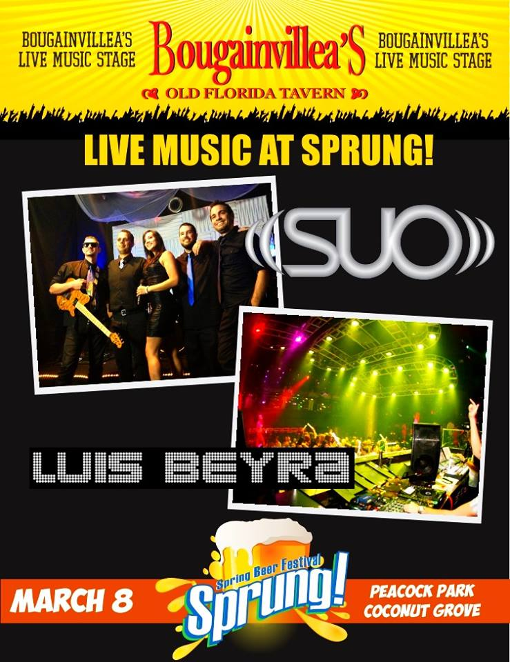 Luis Beyra at Sprung – Spring Beer Festival MARCH 8th 2014