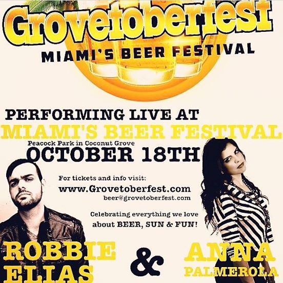 Luis Beyra @ Grovetoberfest this Saturday 18th 2pm to 7pm