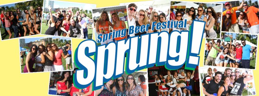 Luis Beyra @ Sprung – Spring Beer Festival MARCH 7th 2015