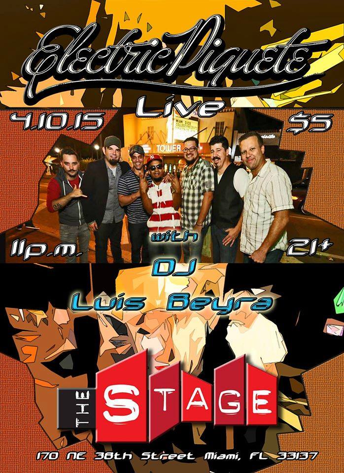 Electric Piquete and Luis Beyra @ The Stage April 10, 2015